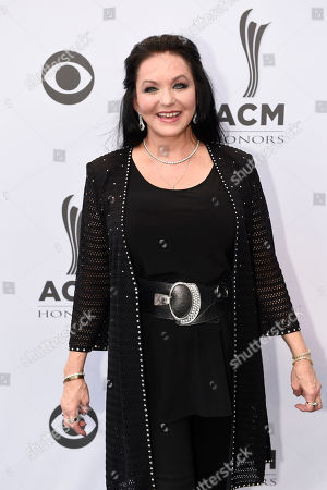 Crystal Gayle poses for a photo at the 10th Annual ACM Honors at Ryman Auditorium, in Nashville, Tenn