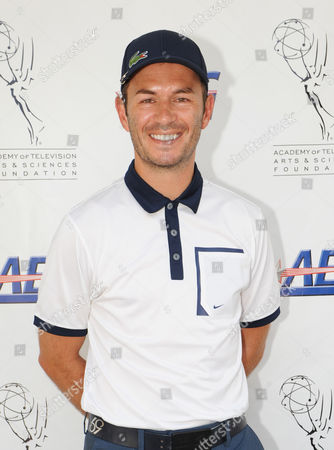 SEPTEMBER 10: Actor Greg Ellis arrives at the Academy of Television Arts & Sciences Foundation and AEG Present the 13th Primetime Emmy Celebrity Tee-Off benefitting the Foundation's education program at the Oakmont Country Club on in Glendale, California