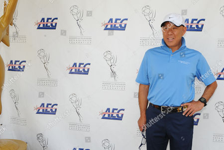 SEPTEMBER 10: Actor Michael Paul Chan arrives at the Academy of Television Arts & Sciences Foundation and AEG Present the 13th Primetime Emmy Celebrity Tee-Off benefitting the Foundation's education program at the Oakmont Country Club on in Glendale, California