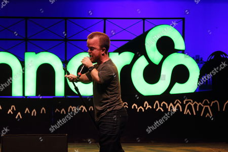 Brad Williams performs at the 2014 Bonnaroo Music and Arts Festival, in Manchester, Tennessee