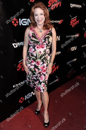 """Sondra Currie arrives at the """"2014 Comic-Con -Sin City: A Dame To Kill For"""" party on Day 1 of Comic-Con International held at the Hard Rock Hotel, in San Diego"""
