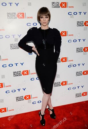 Coca Rocha attends the 2014 Delete Blood Cancer Gala at Cipriani Wall Street, in New York
