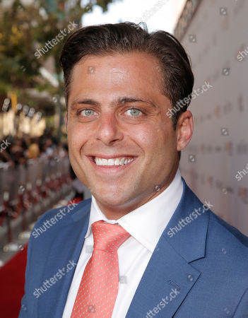Joseph Russo attends the Warner Bros. Premiere of 'Jersey Boys' at the 2014 Los Angeles Film Festival held at Regal Cinemas LA Live Stadium 14, in Los Angeles