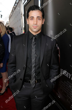 Johnny Cannizzaro attends the Warner Bros. Premiere of 'Jersey Boys' at the 2014 Los Angeles Film Festival held at Regal Cinemas LA Live Stadium 14, in Los Angeles