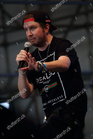 Nick Swardson performs at The Sasquatch! Music Festival at the Gorge Amphitheatre, in George, Washington
