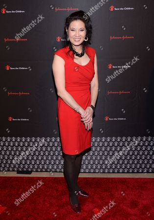 Journalist Sheryl WuDunn attends the 2nd Annual Save the Children Illumination Gala at The Plaza Hotel, in New York