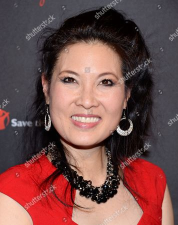 Stock Photo of Journalist Sheryl WuDunn attends the 2nd Annual Save the Children Illumination Gala at The Plaza Hotel, in New York