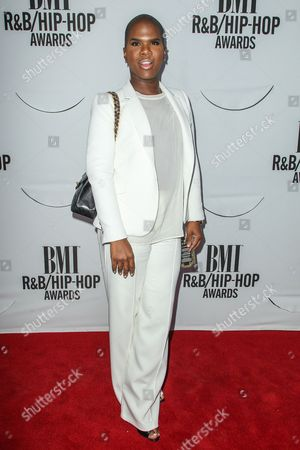 Lawrence Washington (AKA Miss Lawrence) attends the 2015 BMI R&B/Hip-Hop Awards at the Saban Theatre on in Beverly Hills, Calif
