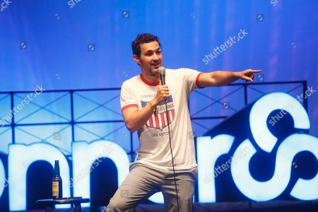 Stock Picture of Mark Normand performs at the 2015 Bonnaroo Music and Arts Festival, in Manchester, Tennessee