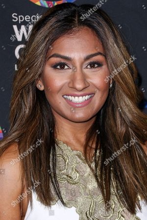 Amrapali Ambegaokar attends the 2015 Special Olympics Celebrity Dance Challenge held at Wallis Annenberg Center For The Performing Arts, in Beverly Hills, Calif