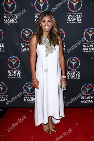 Stock Picture of Amrapali Ambegaokar attends the 2015 Special Olympics Celebrity Dance Challenge held at Wallis Annenberg Center For The Performing Arts, in Beverly Hills, Calif