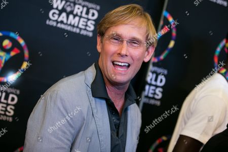 Bart Conner attend the 2015 Special Olympics Celebrity Dance Challenge held at Wallis Annenberg Center For The Performing Arts, in Beverly Hills, Calif