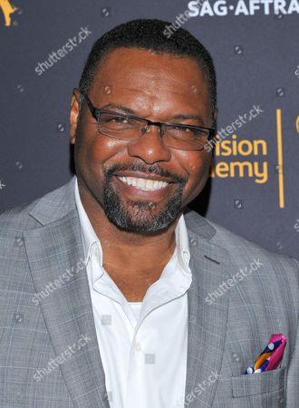 Petri Hawkins-Byrd arrives at the Dynamic & Diverse Nominee Reception presented by the Television Academy and SAG-AFTRA at the Academy's Saban Media Center, in the NoHo Arts District in Los Angeles