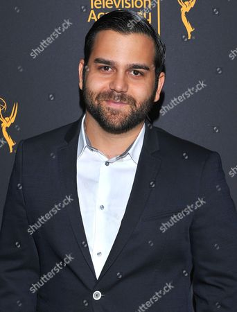 Cameron Gharaee arrives at the Dynamic & Diverse Nominee Reception presented by the Television Academy and SAG-AFTRA at the Academy's Saban Media Center, in the NoHo Arts District in Los Angeles