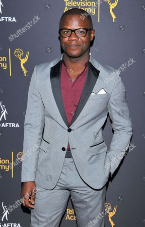 Stock Photo of Tory Devon Smith arrives at the Dynamic & Diverse Nominee Reception presented by the Television Academy and SAG-AFTRA at the Academy's Saban Media Center, in the NoHo Arts District in Los Angeles