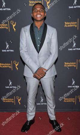 Markees Christmas arrives at the Dynamic & Diverse Nominee Reception presented by the Television Academy and SAG-AFTRA at the Academy's Saban Media Center, in the NoHo Arts District in Los Angeles