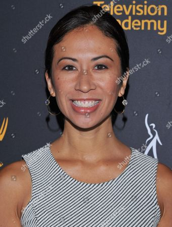 Stock Picture of Elaine Loh arrives at the Dynamic & Diverse Nominee Reception presented by the Television Academy and SAG-AFTRA at the Academy's Saban Media Center, in the NoHo Arts District in Los Angeles