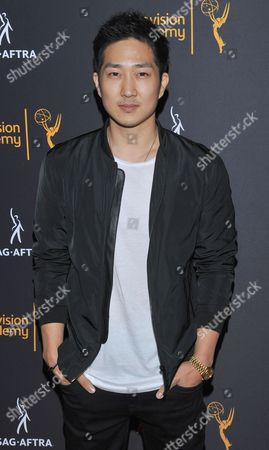 Tim Jo arrives at the Dynamic & Diverse Nominee Reception presented by the Television Academy and SAG-AFTRA at the Academy's Saban Media Center, in the NoHo Arts District in Los Angeles