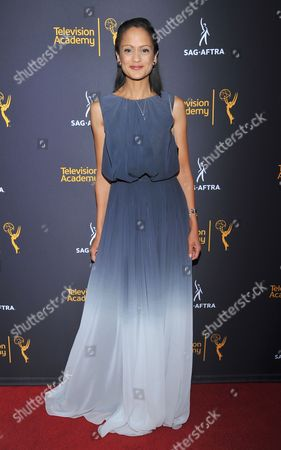 Anne-Marie Johnson arrives at the Dynamic & Diverse Nominee Reception presented by the Television Academy and SAG-AFTRA at the Academy's Saban Media Center, in the NoHo Arts District in Los Angeles