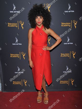 Stock Picture of Gavin Turek arrives at the Dynamic & Diverse Nominee Reception presented by the Television Academy and SAG-AFTRA at the Academy's Saban Media Center, in the NoHo Arts District in Los Angeles