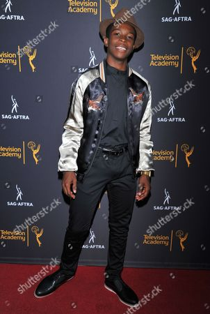 Dante Brown arrives at the Dynamic & Diverse Nominee Reception presented by the Television Academy and SAG-AFTRA at the Academy's Saban Media Center, in the NoHo Arts District in Los Angeles