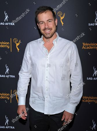 Kurt Yaeger arrives at the Dynamic & Diverse Nominee Reception presented by the Television Academy and SAG-AFTRA at the Academy's Saban Media Center, in the NoHo Arts District in Los Angeles