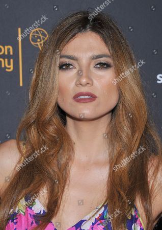 Blanca Soto arrives at the Dynamic & Diverse Nominee Reception presented by the Television Academy and SAG-AFTRA at the Academy's Saban Media Center, in the NoHo Arts District in Los Angeles
