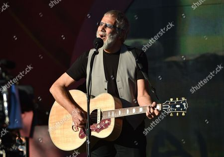 Yusuf Cat Stevens performs at the 2016 Global Citizen Festival in Central Park, in New York