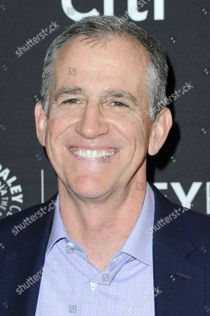 """Kevin Falls attends the """"Pitch"""" screening and panel discussion at the 2016 PaleyFest Fall TV Previews, in Beverly Hills, Calif"""