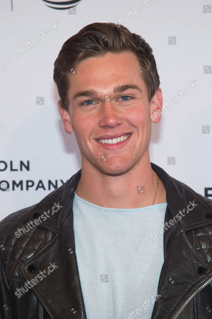 """Taylor John Smith attends the world premiere screening of """"Wolves"""" during the 2016 Tribeca Film Festival at the SVA Theatre, in New York"""