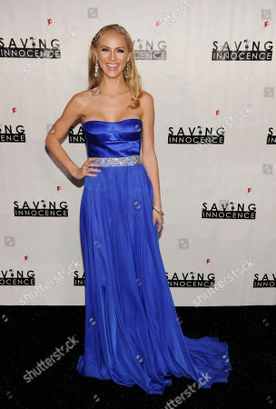 Actress Kristen Dalton poses at the 2nd Annual Saving Innocence Gala, in Los Angeles