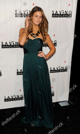 Actress Marielle Jaffe poses at the 2nd Annual Saving Innocence Gala, in Los Angeles