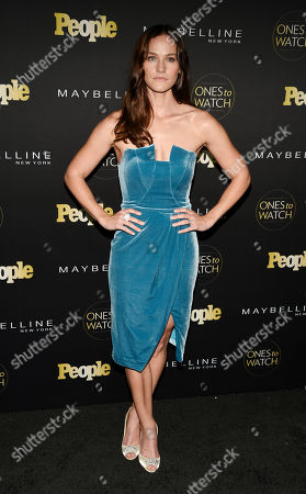 """Kelly Overton poses at People magazine's """"Ones to Watch"""" event, in West Hollywood, Calif"""
