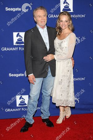 """Stock Picture of Musician J. D. Souther and actress Sylvia Jefferies attend the 16th Annual GRAMMY Foundation Legacy Concert """"A Song Is Born,"""" at the Wilshire Ebell Theatre on in Los Angeles"""