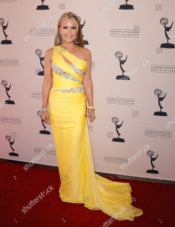 Tamara Henry, of City TV of Santa Monica, arrives at the 65th Los Angeles Area Emmy Awards at the Leonard H. Goldenson Theatre, in Los Angeles