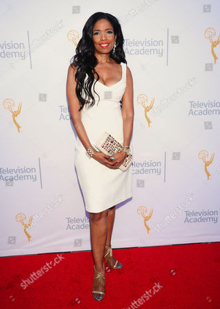 Areva Martin arrives at the 67th Los Angeles Area Emmy Awards at the Skirball Cultural Center on