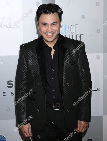 Christian Moralde arrives at the NBCUniversal Golden Globes afterparty at the Beverly Hilton Hotel, in Beverly Hills, Calif