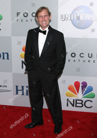 Bart Conner arrives at the NBCUniversal Golden Globes afterparty at the Beverly Hilton Hotel, in Beverly Hills, Calif