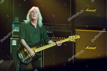 Cliff Williams of AC/DC performs at Nationwide Arena, in Columbus, Ohio
