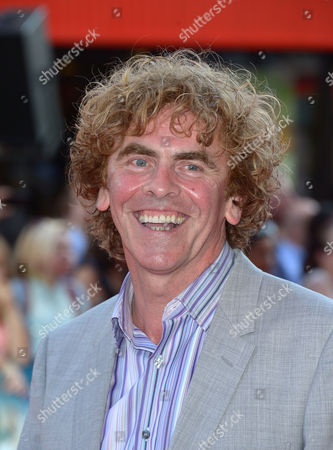 Stock Photo of Declan Lowney arrives at London Premiere of Alan Partridge: Alpha Papa,, in London