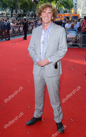 Stock Image of Declan Lowney arrives at London Premiere of Alan Partridge: Alpha Papa,, in London