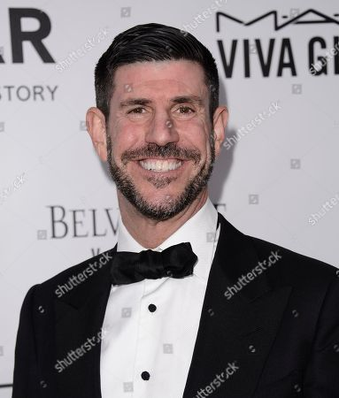 Shine CEO Rich Ross arrives at the fourth annual amfAR Inspiration Gala at Milk Studios on in Los Angeles