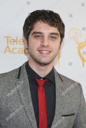 """Actor David Lambert poses at """"An Evening with the Fosters"""" presented by the Television Academy at the El Portal Theatre on in the NoHo Arts District in Los Angeles"""
