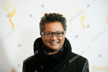 """Moderator Alec Mapa poses at """"An Evening with the Fosters"""" presented by the Television Academy at the El Portal Theatre on in the NoHo Arts District in Los Angeles"""