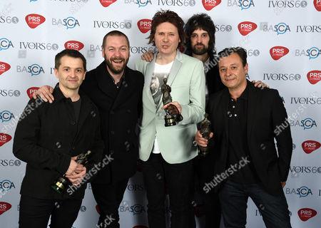 Editorial image of Britain Ivor Novello Awards, London, United Kingdom