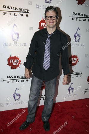 Actor Tom Malloy arrives to the Fear Net and Resident Evil Party at Voyeur Nightclub for Comic-Con weekend, in San Diego