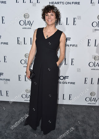 Garance Dore arrives at ELLE's 6th annual Women in Television celebration at the Sunset Tower Hotel, in Los Angeles
