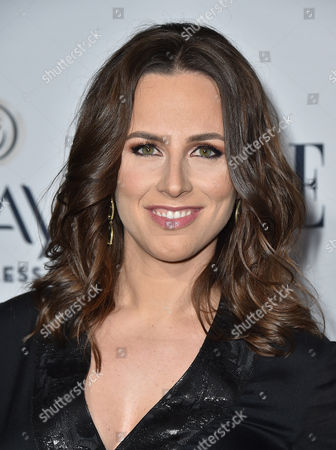 Alicia Menendez arrives at ELLE's 6th annual Women in Television celebration at the Sunset Tower Hotel, in Los Angeles