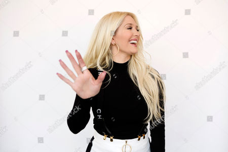 "Erika Girardi, the newest cast member on Bravo TV's ""The Real Housewives of Beverly Hills,"" gestures during a portrait session on in New York"