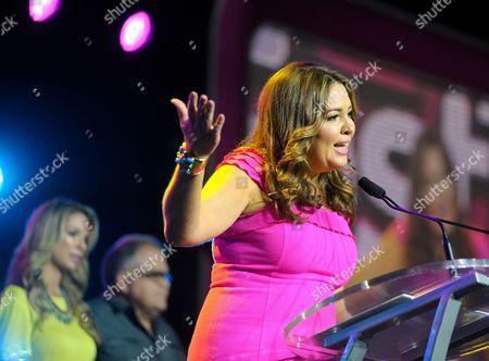 Publisher, People en Espanol, Monique Manso, speaks at Festival People en Espanol 2013, on at Henry B. Gonzalez Convention Center in San Antonio, Texas